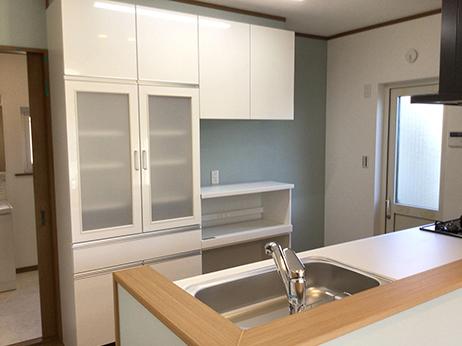 キッチン棚After