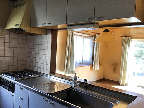 キッチンシンクBefore